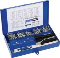 GESIPA Blindnietsortiment Junior-Nietbox PolyGrip® 352-teilig i.Blechkoffer