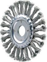 PFERD Rundbürste RBG 11512/22,2 CT ST 0,50 Ø 115 mm Drahtstärke 0,5 mm Stahl 12 mm 12500 min-¹