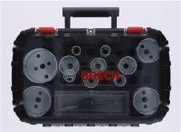 BOSCH Lochsägen-Set Universal Progressor for Wood and Metal 14-teilig 20-76 mm Schnitttiefe 40 mm Bi