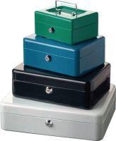 BURG-WÄCHTER Geldkassette Höhe 80 mm Breite 150 mm Tiefe 120 mm grün Stahl