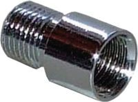 BMB Verlängerung zu Türspion Messing blank Bohr-D. 14 mm Länge 10 mm