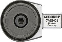 GEDORE Einsteckumschaltknarre 7412-01 3/8 Zoll 9 x 12 mm CV-Stahl