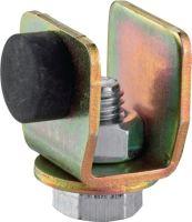 HELM Schienenstopper 400 P Profil 400 Stahl Oberfläche galvanisch verzinkt
