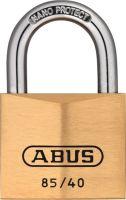 ABUS Zylindervorhangschloss 85/40 gl Schlosskörperbreite 40 mm Messing gleichschließend 0709