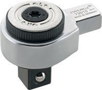 STAHLWILLE Einsteckumschaltknarre 735/10 1/2 Zoll 9 x 12 mm Chrom-Alloy-Stahl