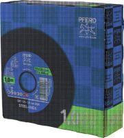 PFERD Trennscheibe STEELOX BOX D125x1mm gerade INOX Bohrung 22,23 mm