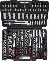 NOW Steckschlüsselsatz 171-teilig  1/4 + 3/8 + 1/2 Zoll Schlüsselweiten 4-32 mm Anzahl Zähne 72/72/7