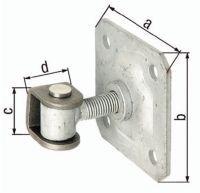 GAH Torband 100x100x42x30mm Stahl roh