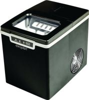 Eiswürfelmaschine EM 6001 sw 120 W schwarz ,Tank 1,9l Kap.0,6kg Eiswürfelbox