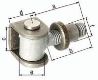 GAH Torband 65x42x37x30mm Stahl roh