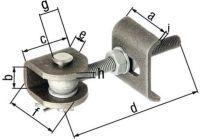 GAH Torband 50x20x45x120x25x45x6x5mm Stahl roh