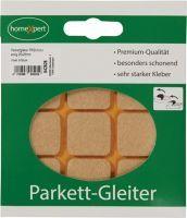 Parkettgleiter Premium 25 x 25 mm Filz natur eckig selbstklebend