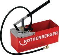 ROTHENBERGER Prüfpumpe TP 25 0 - 25 bar R 1/2 Zoll Saugvolumen pro Hub ca. 16 ml