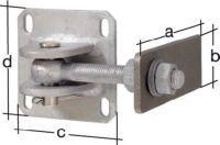 GAH Torband 146x60x100x100mm Stahl roh
