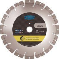 TYROLIT Diamanttrennscheibe DCU Premium Ø 180 mm Bohrung 22,23 mm Bau universal 12 mm