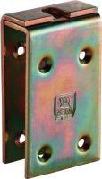 HELM Verstärkungslasche -98 198 Profil 100 Stahl galvanisch gelb verzinkt