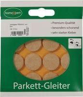 Parkettgleiter Premium 22 mm Filz natur rund selbstklebend