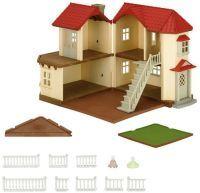 EPOCH Traumwiesen Sylvanian Families - Stadthaus mit Licht, Konstruktionsspielzeug (5302)