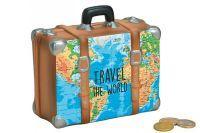 "Spardose Koffer ""Travel the World"" ()"