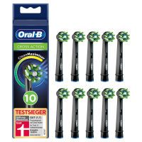 Oral-B Aufsteckbürsten Cross Action 10er BLACK CleanMaximizer