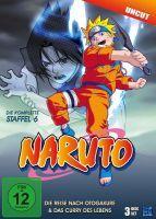 Naruto - Die Reise nach Otogakure & Das Curry des Lebens - Staffel 6: Folge 136-157 (3 DVDs)