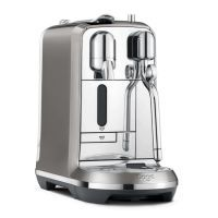 B-Ware Sage Nespresso Maschine Creatista Plus anthrazit