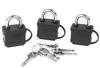 Multipack EASY WORK EW Vorhangschlosssatz 3-tlg () - 6 Stück