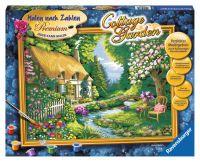 """Ravensburger Malen nach Zahlen Premium """"Cottage Garden"""" ab 14 Jahre von Ravensburger"""