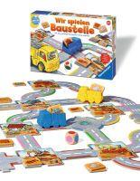 """Ravensburger Kinderspiele """"Wir spielen Baustelle"""" ab 2 1/2 Jahre Geografie Spiele von Ravenburger"""