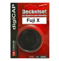 S&M digiCAP Set Fuji X Pro Deckel für Kamera und Objektiv