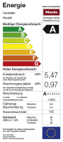 Miele WTR860 WPM PWash & TDos 8/5 kg WT1 Waschtrockner Lotosweiß (11568120)