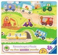 """Ravensburger Kinderpuzzle """"Lieblingsfahrzeuge"""" 8 Teile ab 2 Jahre Puzzle von Ravensburger"""