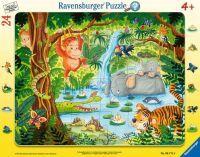 """Ravensburger Kinderpuzzle """"Dschungelbewohner"""" 24 Teile ab 4 Jahre Puzzle von Ravensburger"""