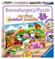 """Ravensburger Kinderpuzzle """"Liebe Bauernhoftiere"""" 12 Teile ab 2 Jahre Puzzle von Ravensburger"""