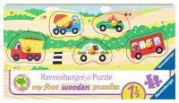 """Ravensburger Kinderpuzzle """"Allererste Fahrzeuge"""" 5 Teile ab 18 Monaten Jahre Puzzle von Ravensburger"""