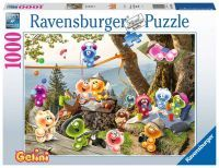 """Ravensburger Erwachsenenpuzzle """"Auf zum Picknick"""" 1.000 Teile ab 14 Jahre Gelini Puzzle von Ravensburger"""