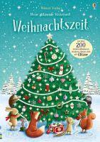 Usborne Verlag Meine glitzernde Stickerwelt: Weihnachts (66637701)