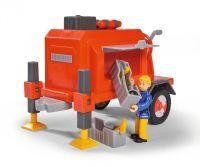 Simba, Anhänger mit 1 Figur, Feuerwehrmann Sam, 15x20.5x15 cm, Rot, 109251041