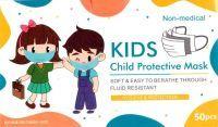 50 x Stk Kinder Mundmaske Mundschutz Kids - Child Protective Mask