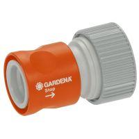 Gardena SB-Profi-System-Übergangsstück mit Wasserstop (2814-20)