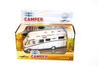 Carthago chic c-line Camper mit Licht, abnehmbares Dach & Rückzug Modellauto