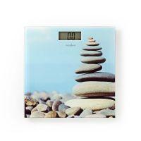 Nedis Personenwaage / Digital / Steine / Gehärtetes Glas / max. Wiegekapazität: 150 kg