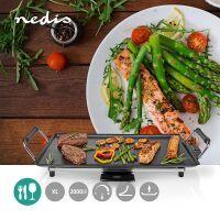 Nedis Teppanyaki-Tischgrill / Backfläche (L x B): 47.5 x 26.5 cm / 5 Wärmeeinstellungen