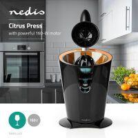 Nedis Citrus Presses / 160 W / 0 l / Orange / Schwarz