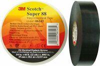 3M SUPER88-19X20-B Isolierband Scotch Schwarz (L x B) 20m x 19mm 1St