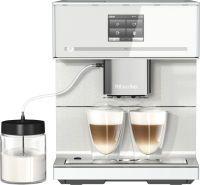 Miele CM 7350 CoffeePassion Stand-Kaffeevollautomat Brillantweiß (11024890)