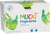 Kreul 2 + Fingerfarbe MUCKI Fingerfarbe 6er Set 150 ml (2316)