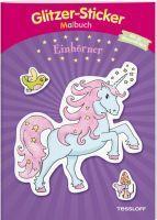 Tessloff Glitzer-Sticker-Malbuch Einhörner (66901301)