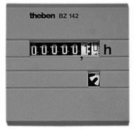 Theben BETRIEBSSTUNDEN ZÄHLER   48X48 (BZ  142-1     EINBAU)