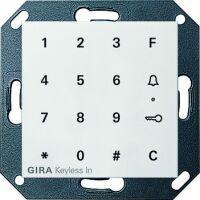 Gira Keyless In Codetastatur für System 55 reinweiß